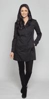 Womens Hooded Mac Raincoat db302